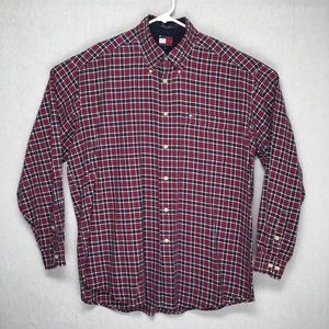 Tommy Hilfiger soft cotton mens long sleeve shirt